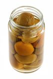 Homemade pickled peach (Chinese plum, Japanese apr Stock Photography