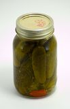 Homemade Pickles Royalty Free Stock Photo