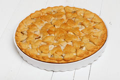 Homemade pie with apples and pears Royalty Free Stock Photography