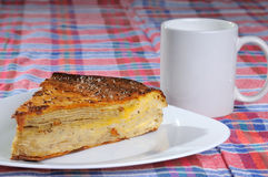 Homemade pie Stock Photo