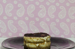 Homemade piece of Tiramisu Stock Photo