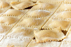 Homemade Piedmont Agnolotti Royalty Free Stock Image