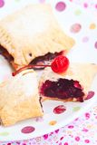 Homemade pies with fresh  berries Stock Image