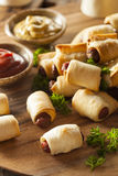 Homemade Pigs in a Blanket Stock Photography