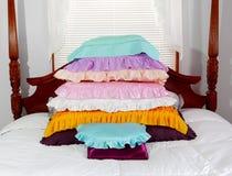 Homemade pillows Royalty Free Stock Photography