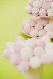 Homemade pink and white marshmallow Stock Image