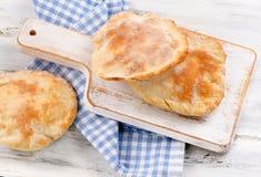 Homemade pita bread Royalty Free Stock Photo