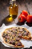 Homemade pizza Stock Photography