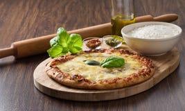 Homemade pizza. Royalty Free Stock Photos