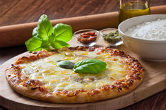 Homemade pizza. Royalty Free Stock Image