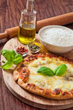 Homemade pizza. Stock Images