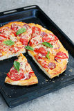 Homemade pizza Royalty Free Stock Images