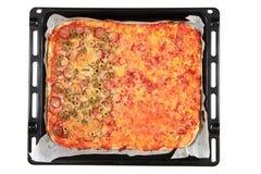Homemade pizza Royalty Free Stock Photo