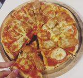 Homemade pizza Stock Photos