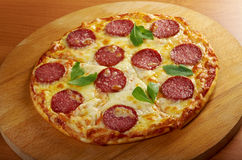 Homemade  pizza  Pepperoni Royalty Free Stock Photography