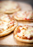 Homemade pizza closeup Royalty Free Stock Photography