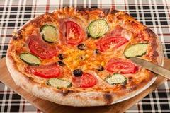 Homemade pizza. Royalty Free Stock Photo