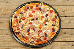 Homemade pizza Royalty Free Stock Photography