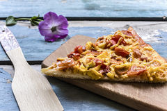 Homemade pizza Stock Image