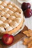 Homemade plum cake Stock Photo