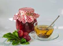 Homemade plum jam Royalty Free Stock Photography