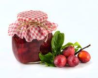 Homemade plum jam Royalty Free Stock Photo