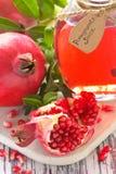 Homemade pomegranate juice. Stock Photos