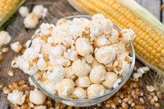 Homemade Popcorn Royalty Free Stock Image