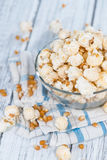 Homemade Popcorn Stock Photo