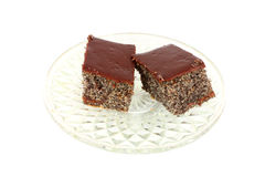Homemade poppy cakes Stock Images