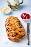Homemade poppy seed roll Stock Photography