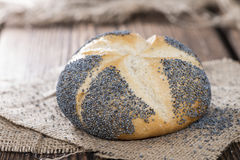 Homemade Poppyseed Buns Royalty Free Stock Photography