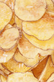 Homemade Potato chips stock images