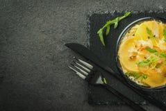 Homemade potato gratin Royalty Free Stock Photo