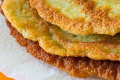 Homemade potato pancakes Stock Image