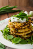 Homemade potato pancakes Royalty Free Stock Image