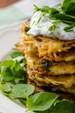 Homemade potato pancakes Royalty Free Stock Photography