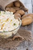 Homemade Potato Salad Stock Photo
