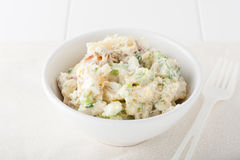 Homemade potato salad Royalty Free Stock Photography