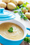 Homemade potato soup Royalty Free Stock Images