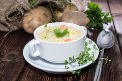 Free Homemade Potatoe Soup Stock Photography - 31890302