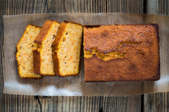 Homemade pound cake Royalty Free Stock Image