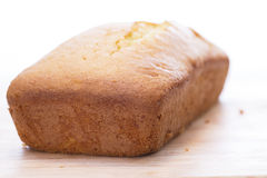 Homemade Pound Cake Stock Image
