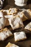 Homemade Powder Sugar Beignets Royalty Free Stock Images