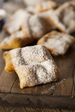 Homemade Powder Sugar Beignets Royalty Free Stock Image