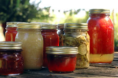 Homemade Preserves Stock Images