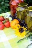 Homemade preserves Stock Image