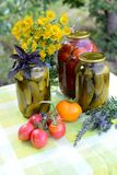 Homemade preserves Royalty Free Stock Images
