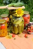 Homemade preserves Stock Photos