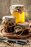 Homemade preserves for the winter. Stock Photography